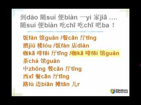 Chinese Language Builder Food and Drink 1