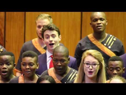 King's Singers singing with UJ Choir