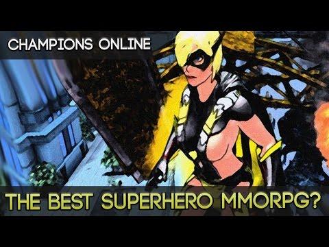 Champions Online - The Best Open World Superhero Action MMORPG?