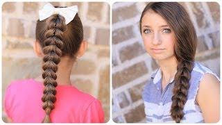 كيفية إنشاء سحب من خلال جديلة | سهلة تسريحات الشعر مضفر