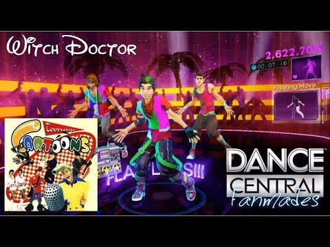 """Dance Central - """"Witch Doctor"""" Cartoons Fanmade"""