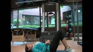 exercise tva leg drop