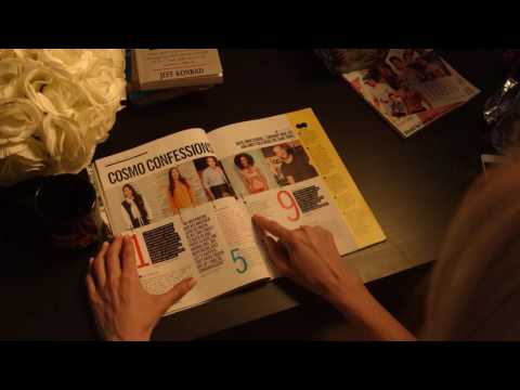 ASMR || Cosmopolitan Magazine Reading || Whisper