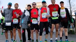Running In Morocco au Marathon de Paris 2016