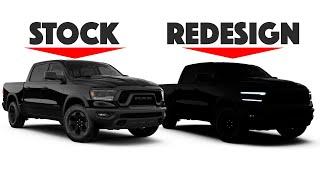 2020 RAM 1500 Rebel Re-design - Rugged Elegance