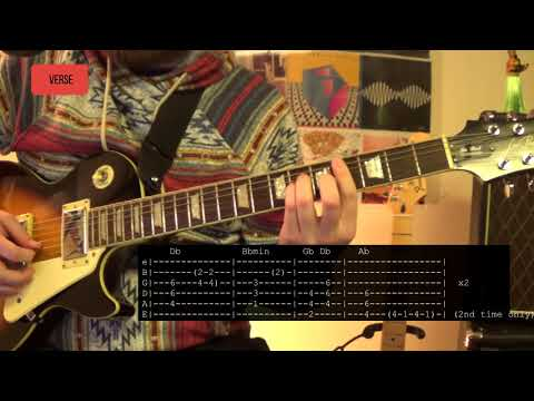Green Day - Back in the USA Guitar Lesson Tutorial WITH TABS ONSCREEN!