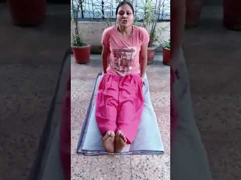 how to do butterfly pose titli asana  yoga for students