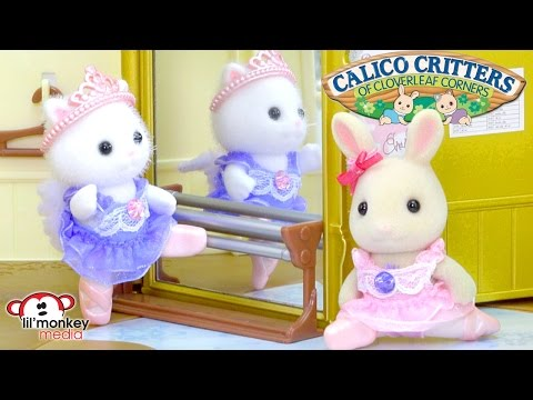 Calico Critters Ballet Theater, Ice Skating and Ballerina Friends Playsets!