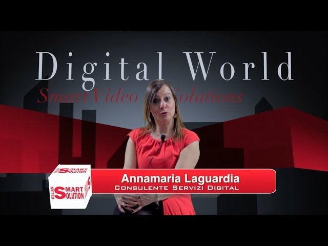 Annamaria Laguardia, Italian Smart Solution.