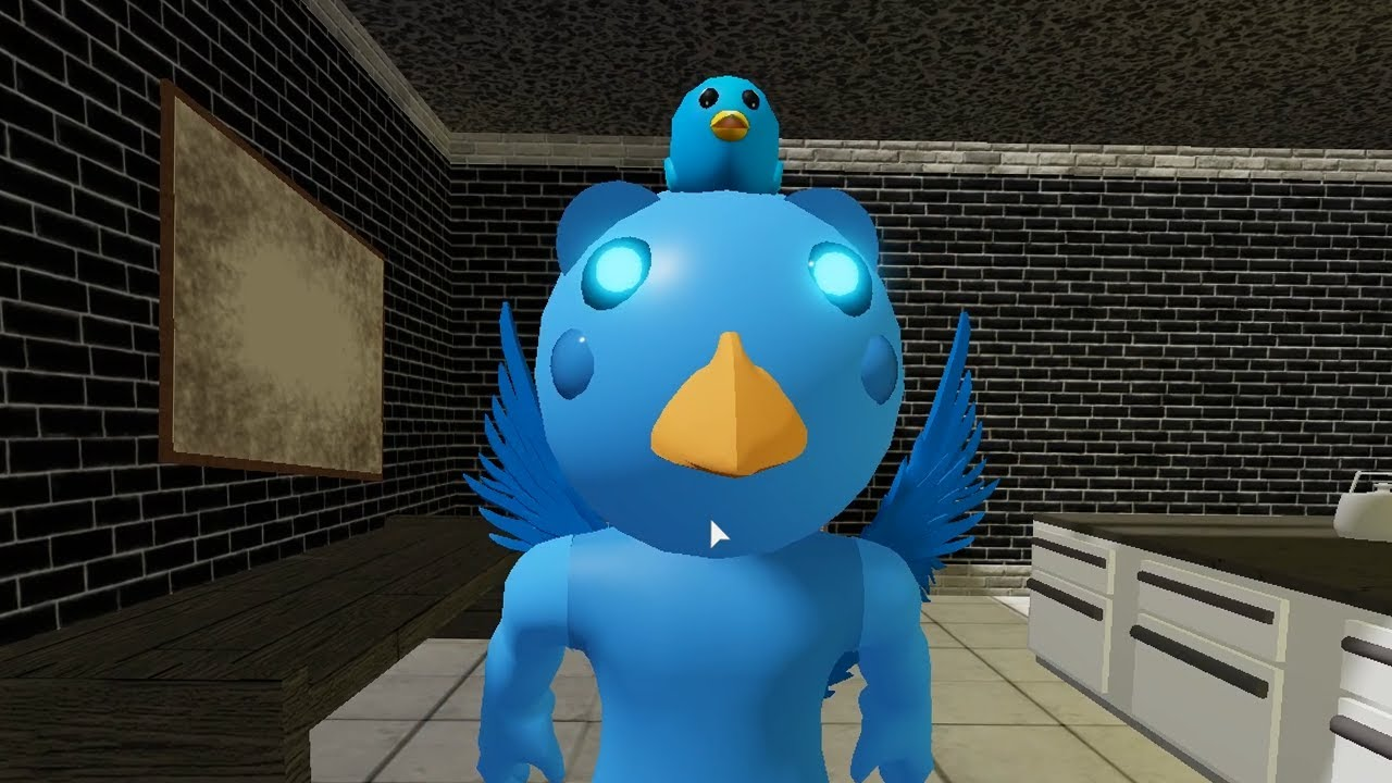 ROBLOX BIRDY PIGGY JUMPSCARE - Roblox Piggy RolePlay