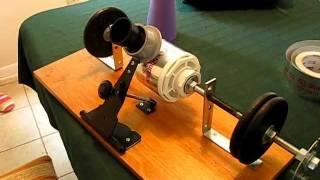Homemade Edison Tinfoil  Phonograph