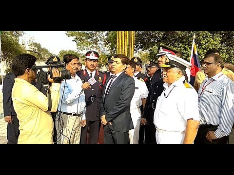 14 APR Tribute Ceremony at Victoria Dock Memorial, MUMBAI PORT TRUST
