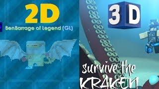 Growtopia 3D!? Disaster Island! Kraken!? | Roblox