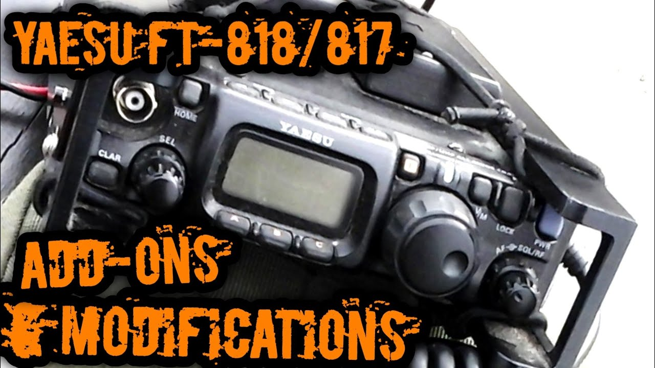 Yaesu FT 817 Accessories | Yaesu FT-818 Accessories ... ▶24:48