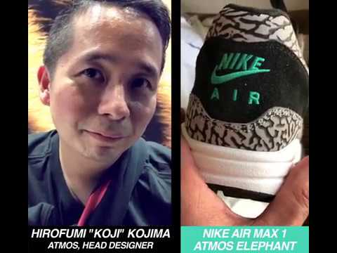 Nike Air Max 1 Atmos Elephant x Koji #AirMaxDay – Zarpado