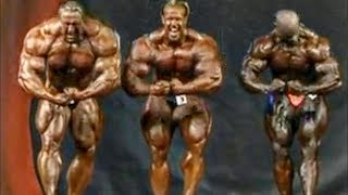 When Markus Ruhl Was Standing Next To Ronnie Coleman and Jay Cutler Making Them Look Small