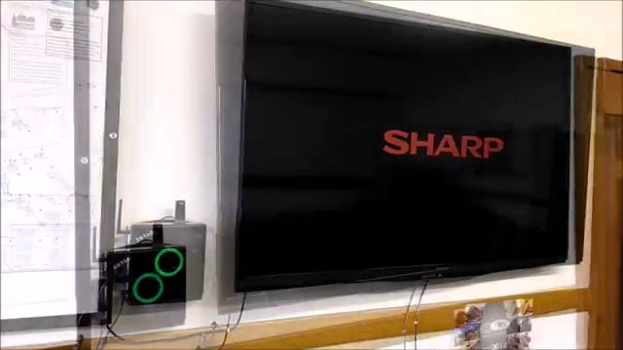 Easy Conference Room TV PC - Zotac Zbox and Sharp 60 inch