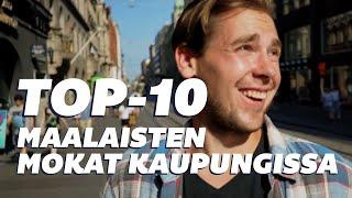 Korroosio - TOP-10 Maalaisten mokat kaupungissa