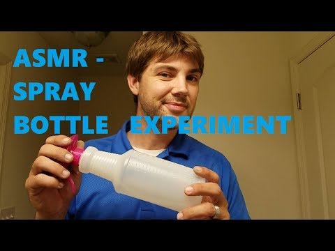 ASMR  |  Spray Bottle Experiment