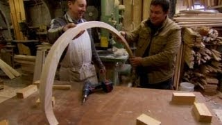How To Fabricate A Morris Minor Wood Frame - Wheeler Dealers