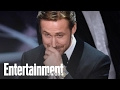 Ryan Gosling Explains Why He Laughed During The Oscars Mix-Up | News Flash | Entertainment Weekly video & mp3