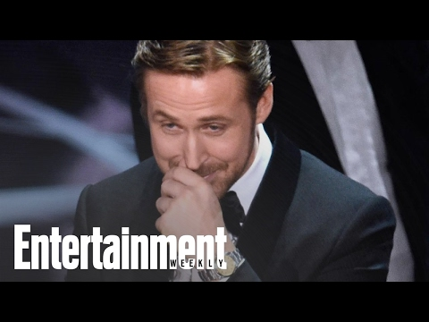 Thumbnail: Ryan Gosling Explains Why He Laughed During The Oscars Mix-Up | News Flash | Entertainment Weekly