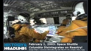 Download February 1, 2003: Space Shuttle Columbia Disintegrates on Reentry! Mp3 and Videos