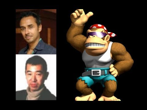 Video Game Voice Comparison- Funky Kong (Donkey Kong ...