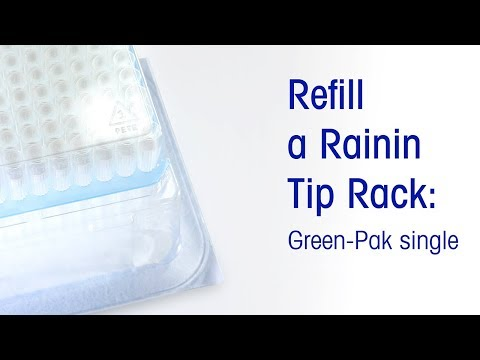 Refill Rainin Pipette Tip Rack: Green-Pak Single