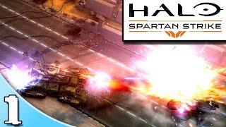 Halo: Spartan Strike - Part 1 (1080p 60fps Let