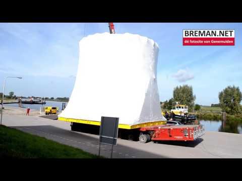 26-09-2016 Speciaal transport Machinery Breman Genemuiden