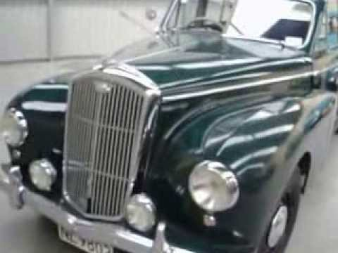1952 Wolseley 6/80 - Waimak Classic Cars - New Zealand