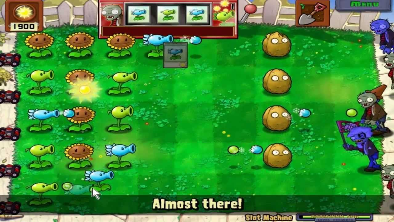plants vs zombies slot machine