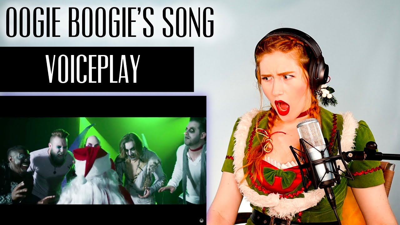Download VOICE COACH REACTS   VoicePlay... OOGIE BOOGIE'S SONG (The Nightmare Before Christmas)... WAT?!