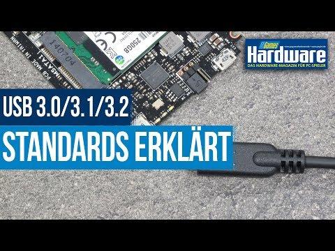 USB-Generationen von 1.1 bis 4.0 erklärt | USB 3.1 / 3.2 | Verwirrende Standards entschlüsselt