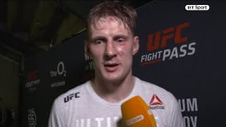 """Alexander Volkov: """"I want a title fight in Russia next!"""" Drago has big hopes after UFC London win"""