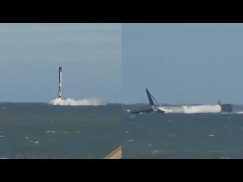 Falcon 9 water landing, 5 December 2018