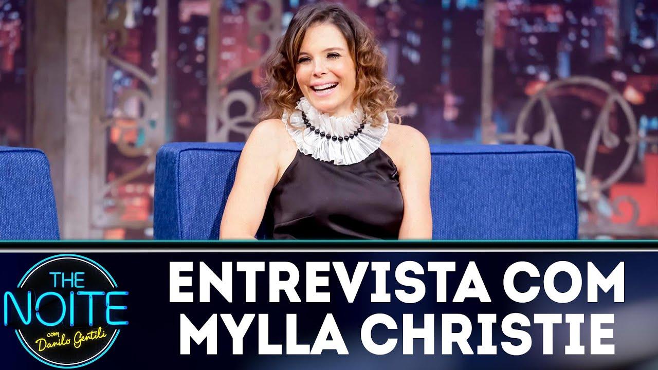 Entrevista com Mylla Christie | The Noite (14/08/18)