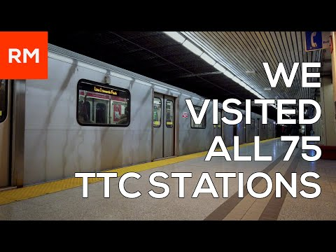 WE VISITED ALL 75 TTC STATIONS!