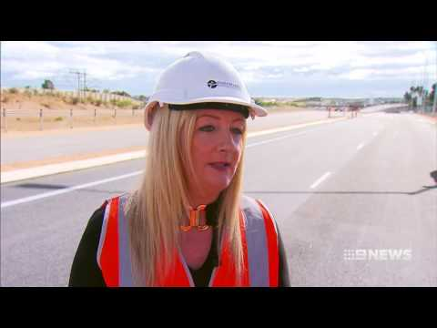 Freeway Opening | 9 News Perth