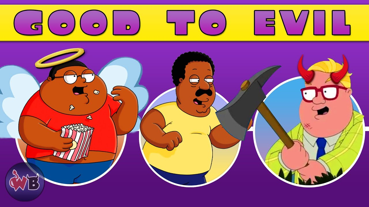 Cleveland Show Characters: Good to Evil
