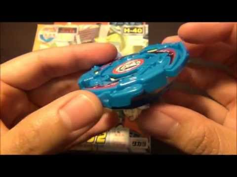 Plastic Gen Beyblade Unboxing! SEABORG 2