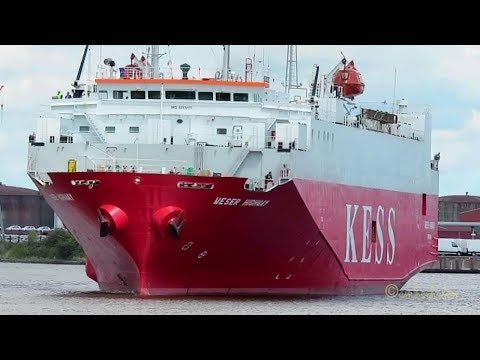 Weser Highway  H9DD IMO  9065417  Emden Car Carrier Autotransporter ship vessel Schiff