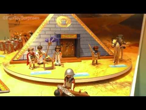 Playmobil pyramid ancient egypt toyfairny sneak peak 2017 - Playmobil egyptien ...