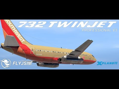 The 732 TwinJet V3 by FlyJSim for X-Plane 11
