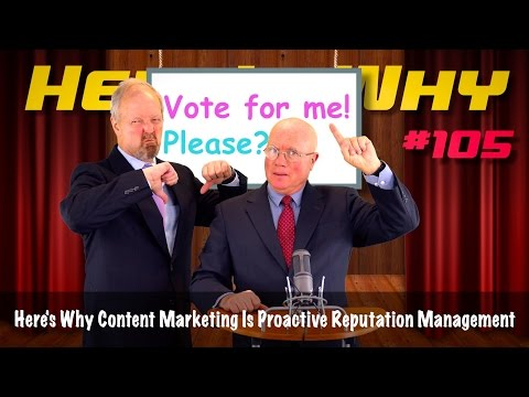 Content Marketing Is Proactive Reputation Management - Here's Why