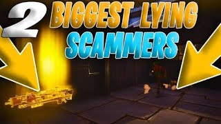 2 STUPID Scammers EXPOSED! He Loses EVERYTHING (Scammer Gets Scammed) Fortnite Save The World