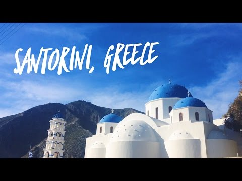 TRAVEL MONTAGE - Santorini, Greece 2017