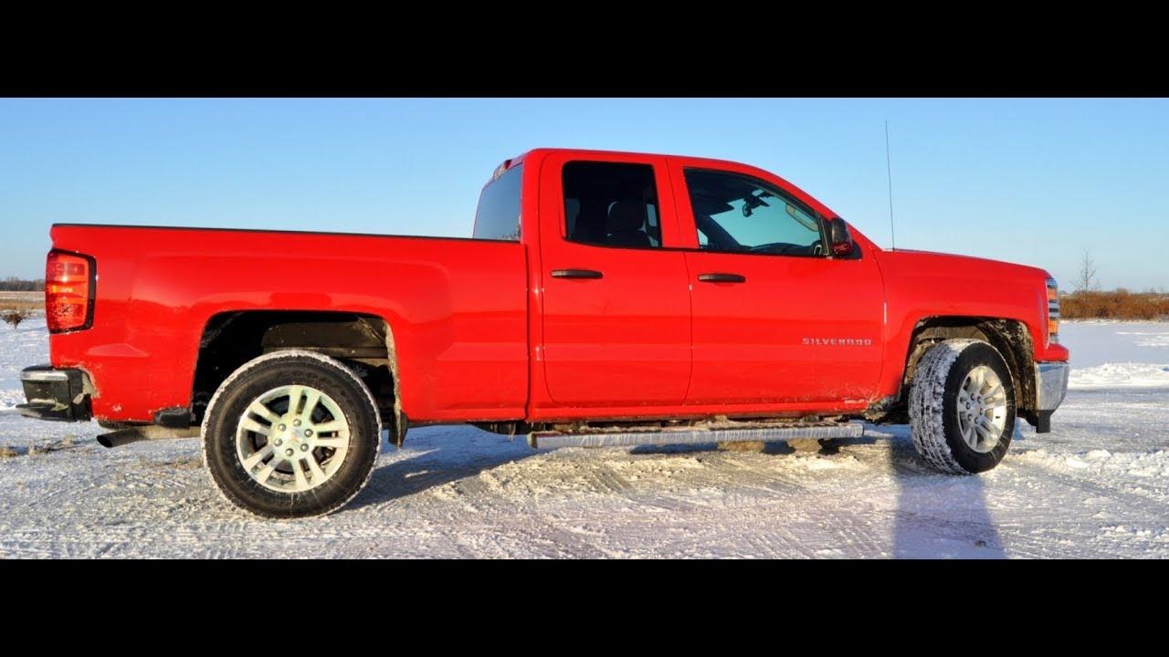 Snow Driving Video Review 1 - 2014 Chevy Silverado 1500 LT All ...