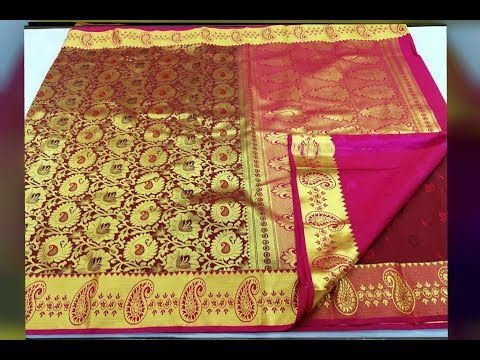 elegant-bridal-kanchi-sarees|royal-enrich|bridal-wedding-sarees|telugu-traditional-sarees|kratika-tv